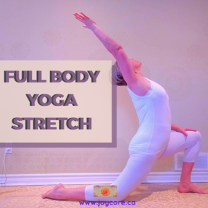 Frances on Full Body Yoga Stretch Yoga group class