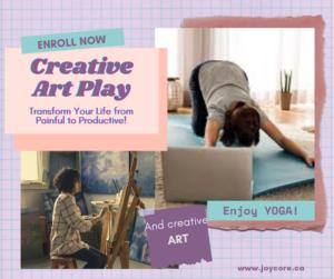 Creative Art Play Workshop is art classes oshawa